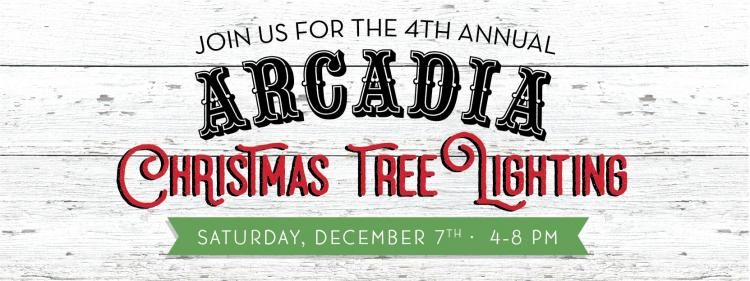 Arcadia Christmas Tree Lighting Event