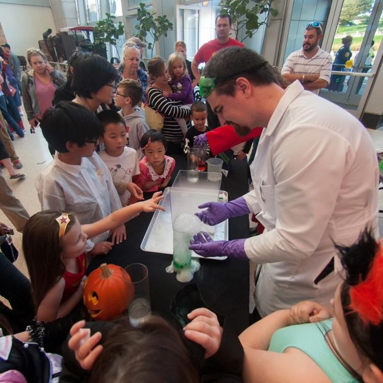 Family Fright Night at Indiana State Museum
