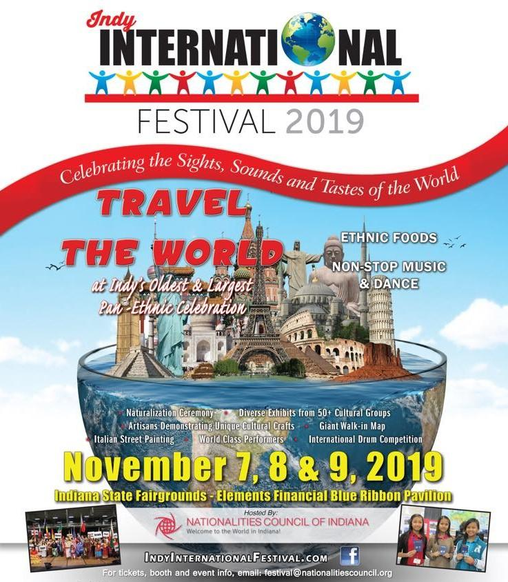INDY International Festival at Indiana State Fairgrounds