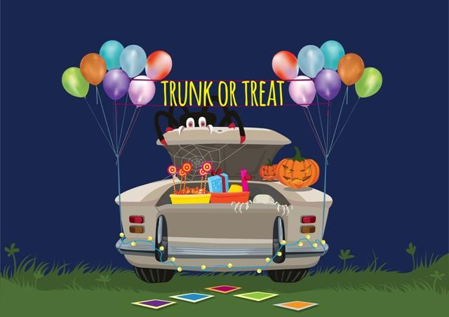 TRUNK or TREAT and Safe Trick or Treat Events