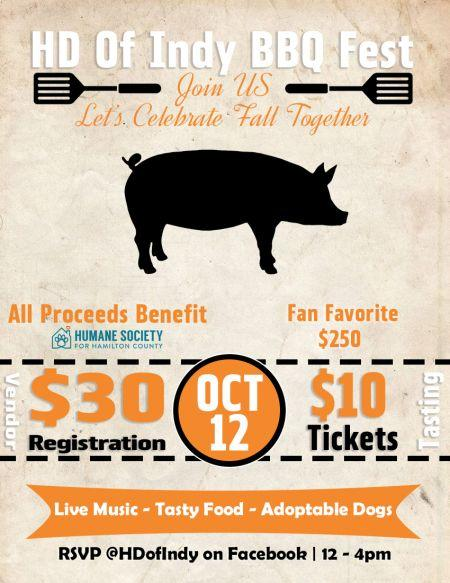 BBQ Fest benefiting Humane Society for Hamilton County