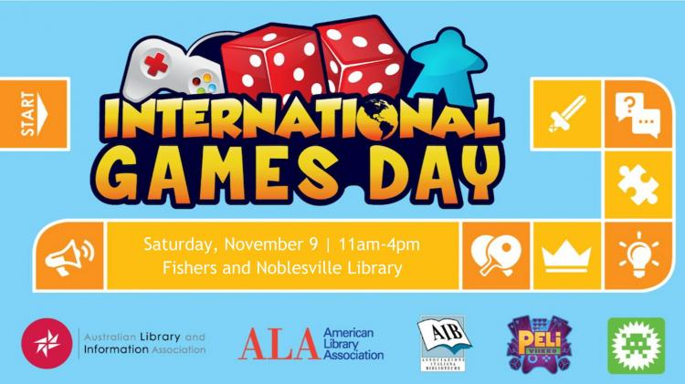 International Games Day at Fishers Library