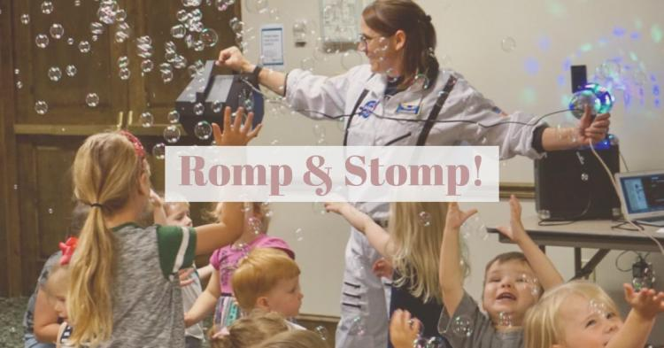 Romp & Stomp at Zionsville Library