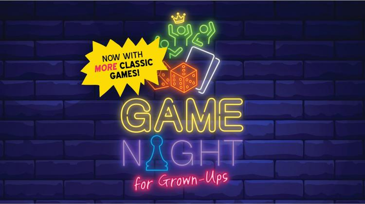 Game Night for Grown-Ups at Carmel Library