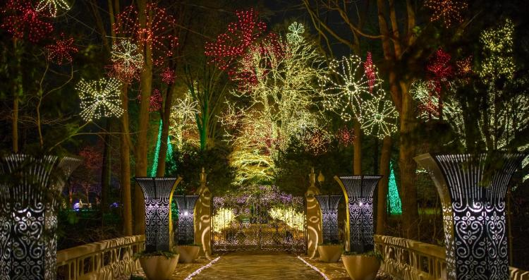 Winterlights at Newfields