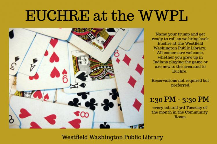 Euchre at the Westfield Library