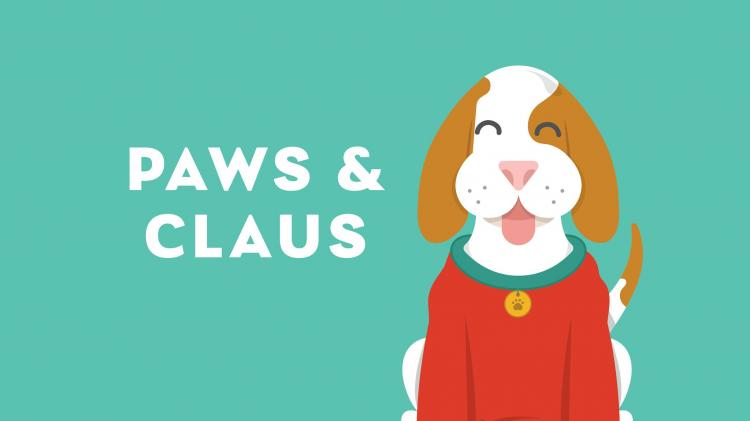 Paws & Claus Event at Clay Terrace