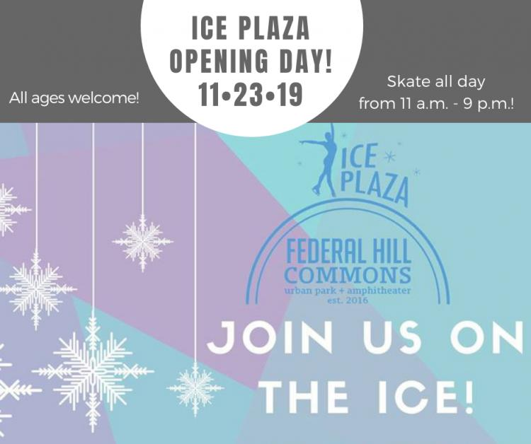 Ice Plaza at Federal Hill Commons