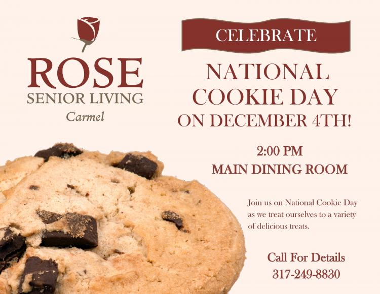 Celebrate National Cookie Day at Rose Senior Living