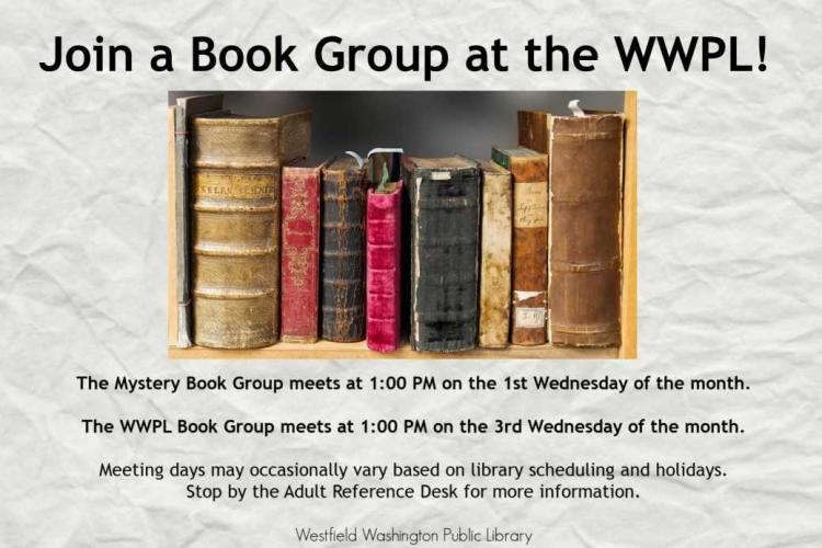 WWPL Book Group - Westfield Library
