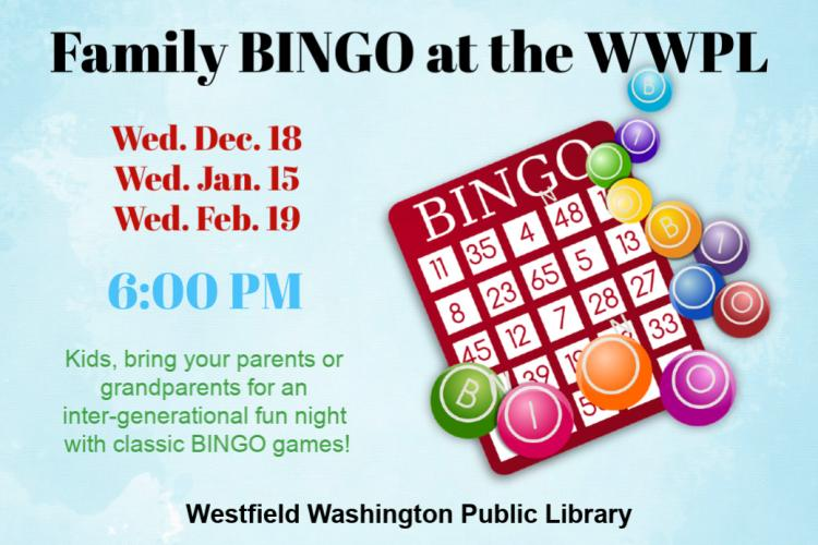 Family Bingo Night at Westfield Library