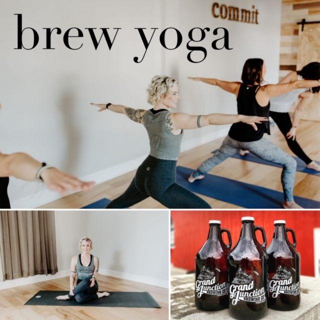 Brew Yoga at The Tap Room in Westfield
