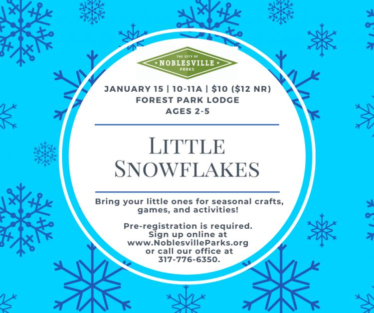 Little Snowflakes at Forest Park Lodge