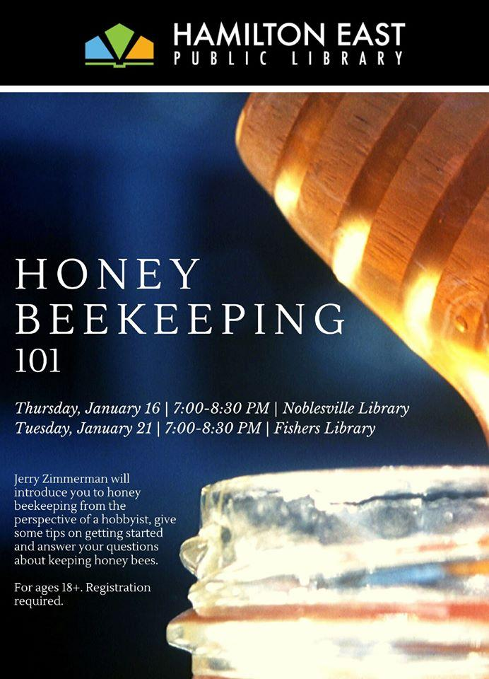 Honey Beekeeping 101 at Fishers Library
