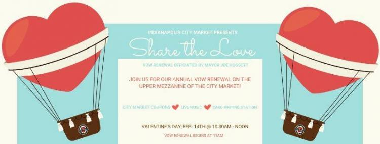Sharing the Love: Vow Renewal at Indianapolis City Market