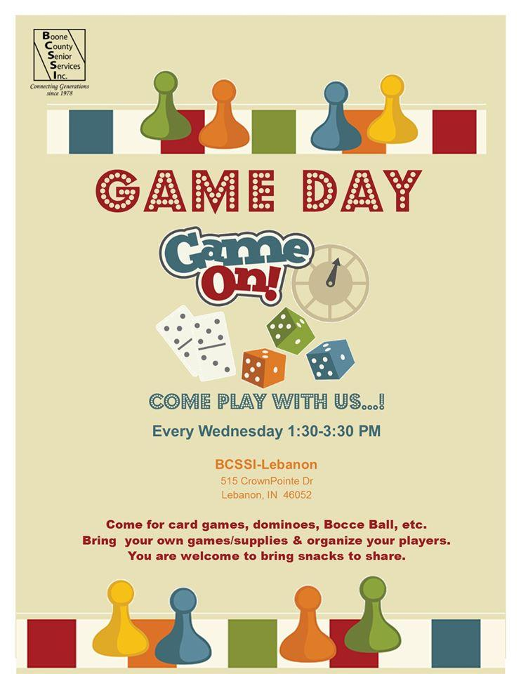 Game Day Wednesday at BCSSI