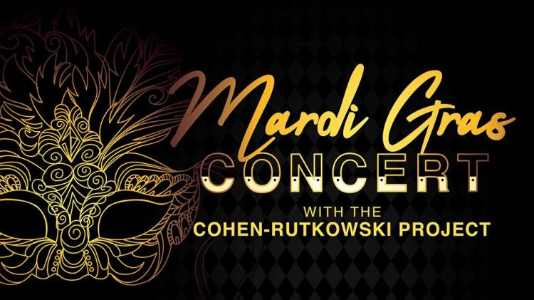 Mardi Gras Concert with the Cohen-Rutkowski Project at Carmel Library