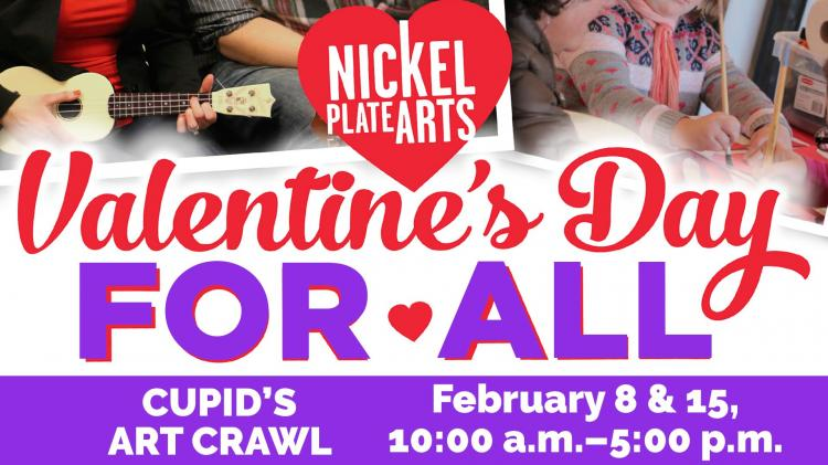 Cupid's Art Crawl - Valentine's Day for All!