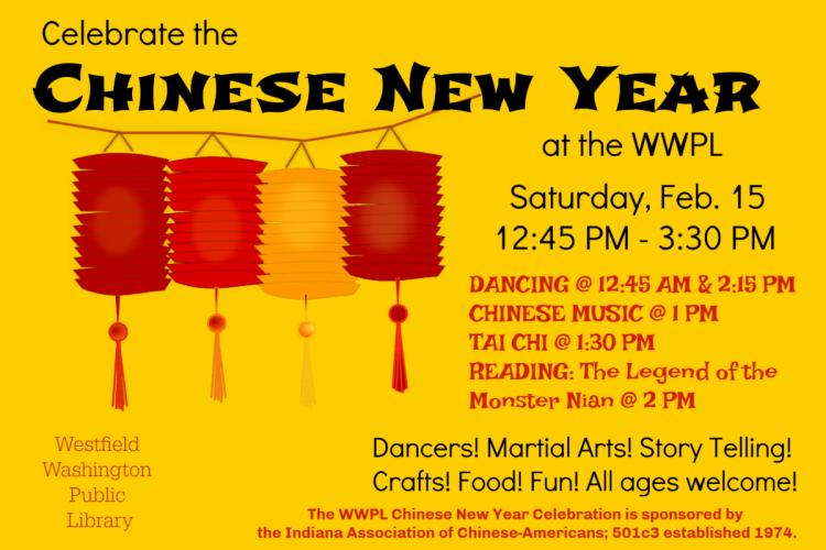 Chinese New Year at Westfield Library