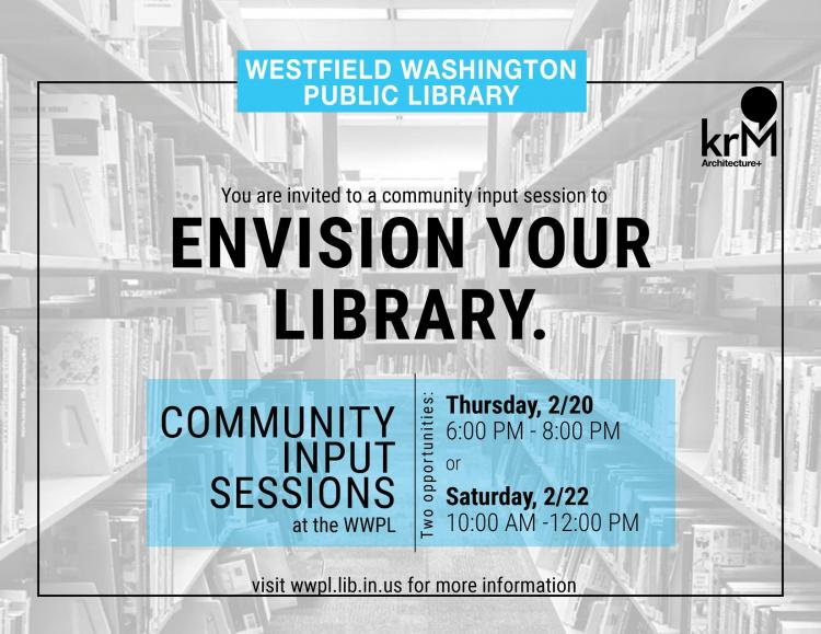 Envision Your Library at Westfield Library