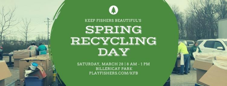 Spring Recycling Day in Fishers ***Postponed***