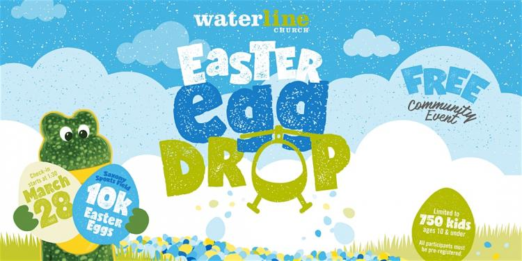 Easter Egg Drop at Saxony ***Cancelled***