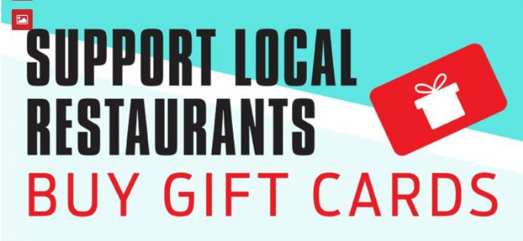 Buy Gift Cards to your favorite RESTAURANTS!