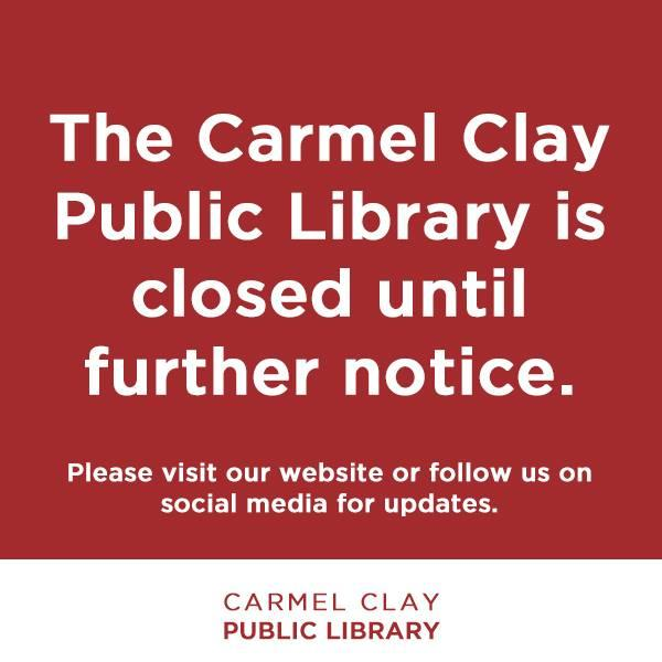 Carmel Library Closed - Online is OPEN 24/7!