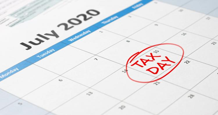 Tax Filing & Payment Due Dates Extended to July 15