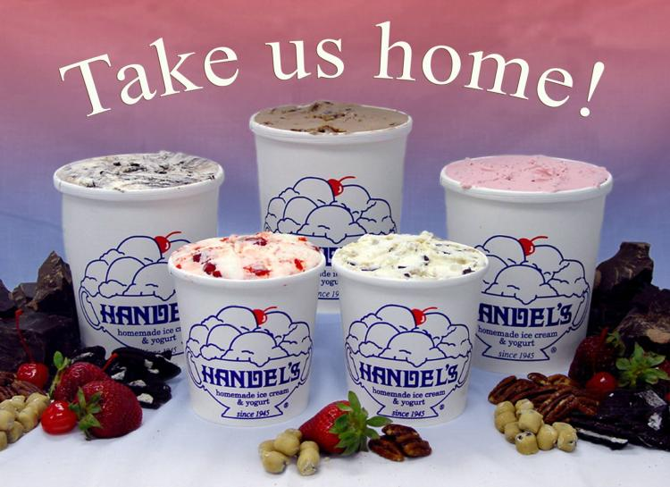 Handel's is OPEN for Carry Out
