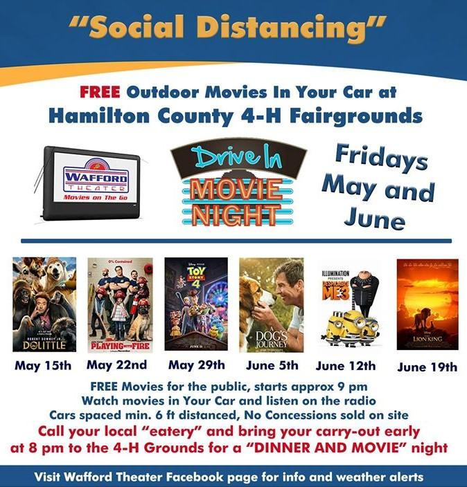 FREE Drive In Movie Night!