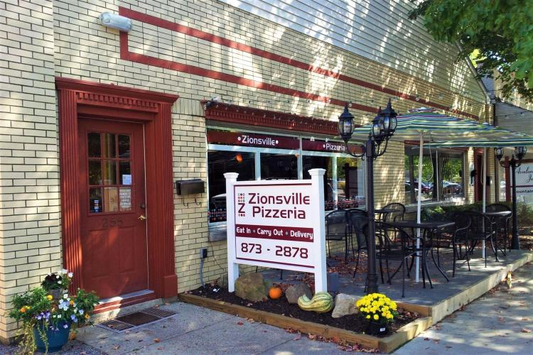 Zionsville Pizzeria OPEN for Dine In, Carryout, & Delivery!