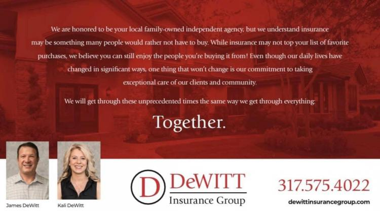 Let us help you cut your insurance cost. Call DeWitt Insurance!