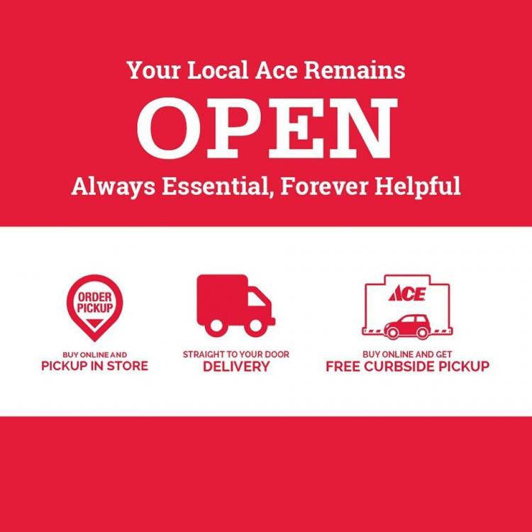Noblesville Ace Hardware **OPEN with normal business hours**
