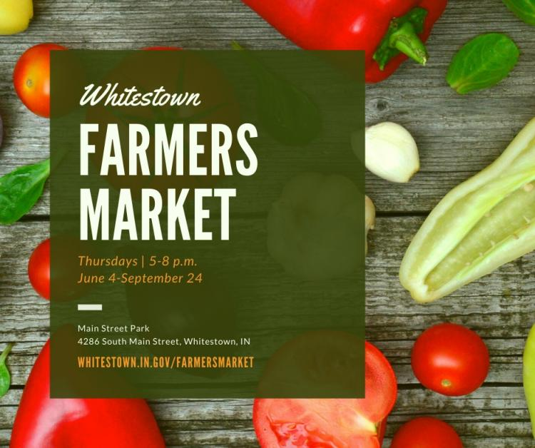 Whitestown Farmers Market *New Location & Safety Guidelines*