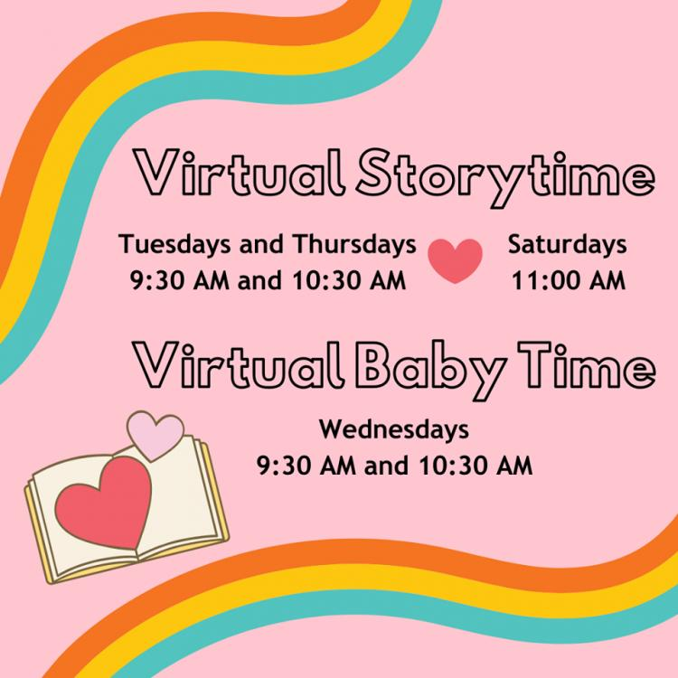 Virtual Storytimes with HEPL