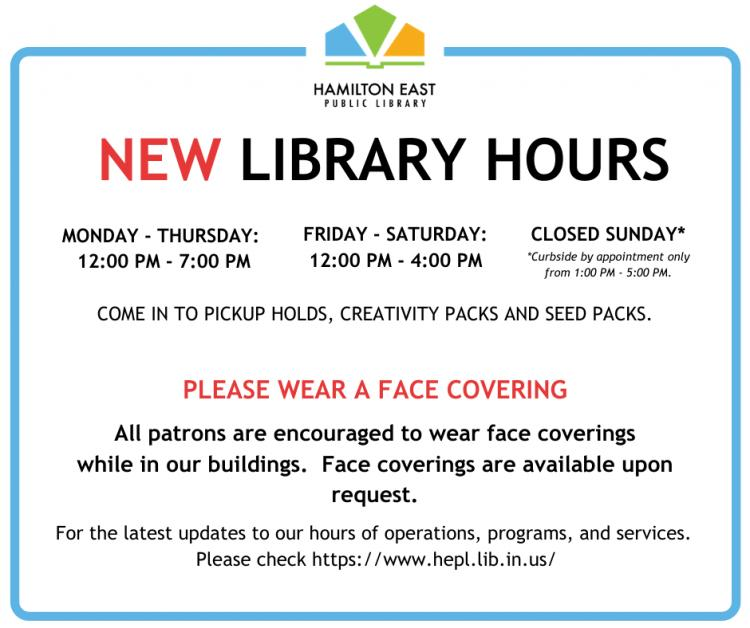 Hamilton East Library - REOPENED