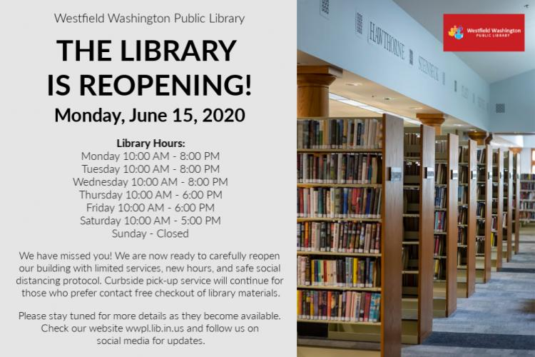 Westfield Library *REOPENED*