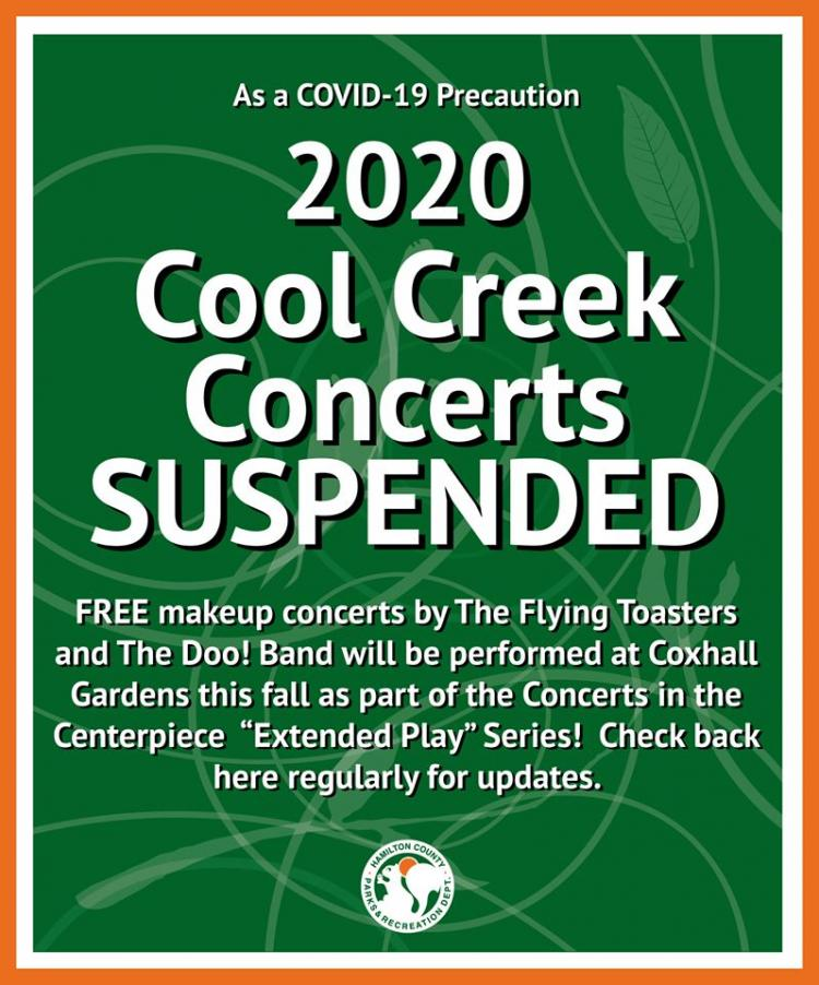 Cool Creek Concert Series Cancelled for 2020