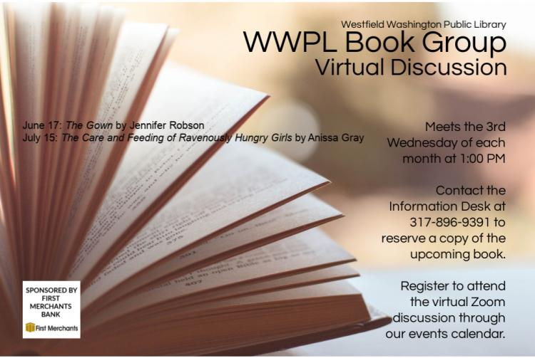 VIRTUAL WWPL Book Group - Westfield Library