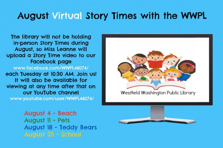 Virtual Story Time with the WWPL