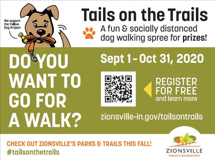 Tails on the Trails Group Dog Walk