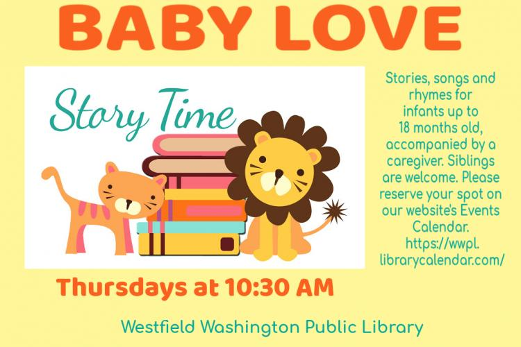 Baby Love Story Time at Westfield Library