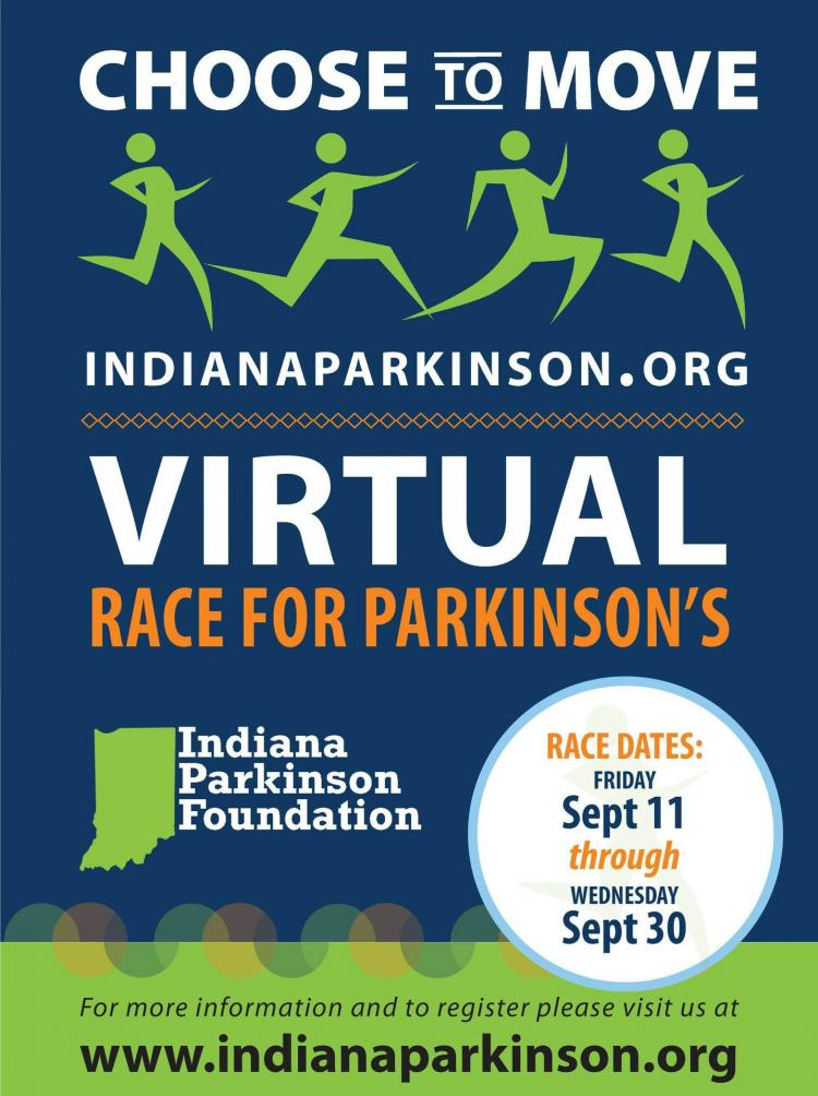 Choose to Move 2020 - VIRTUAL RACE for Parkinson's