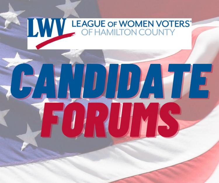 League of Women Voters VIRTUAL Candidate Forums