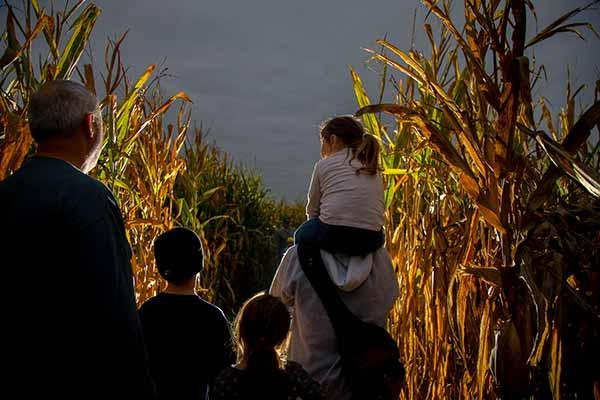 Haunted Corn Maze at Conner Prairie