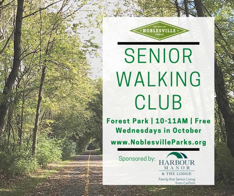 Senior Walking Club with Noblesville Parks