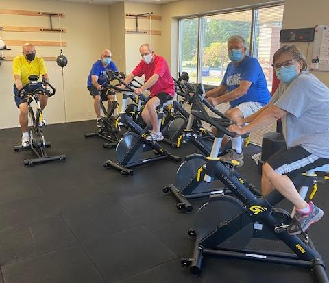 Pedaling for Parkinson's at Witham