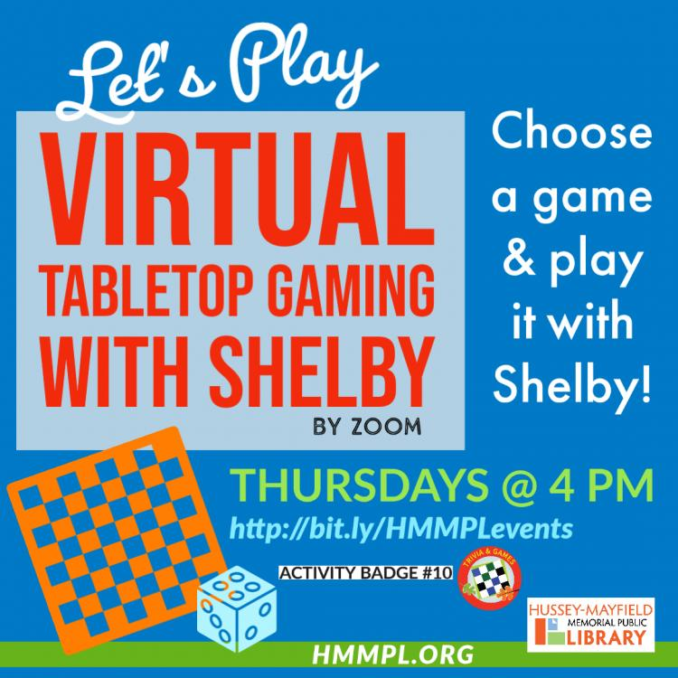 ZPL's Virtual Tabletop Gaming with Shelby