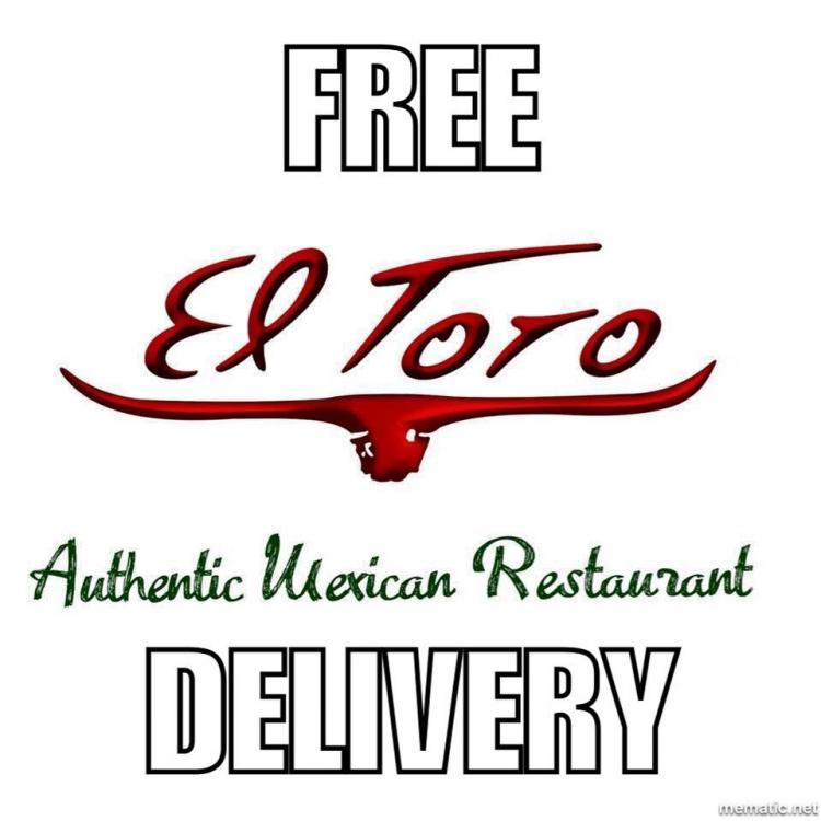 El Toro Zionsville offering FREE Delivery ALL WINTER!